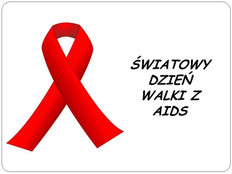 Znalezione obrazy dla zapytania czerwona kokardka aids