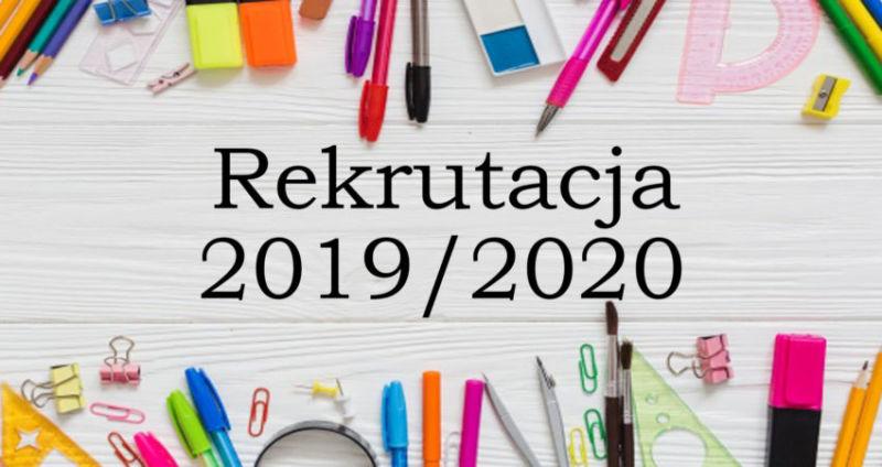 Wyniki postępowania kwalifikacyjnego 2019/2020